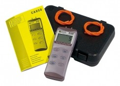 C.A 850- Digital Manometer images