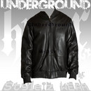 Sean John 'Leather Flight Jacket'