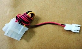 Slika 3-pin to 4-pin (Molex) Fan Adapter Power Cable