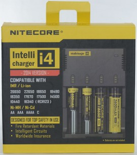 Slika Nitecore Intellicharger i4 V2 - 2014 VERSION (Inteligentni punjač za sve tipove baterija)