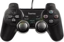 Hama BlackForce USB Gamepad (dual analog stick 360°, dual vibration)