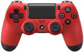 Slika Kontroler Dual Shock PS4 Playstation 4 crveni