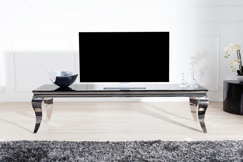 Barok Tv Kast.Tv Meubel Moderne Barok 160 Cm Zwart Zilver 37749