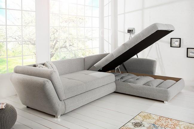 Bankstel Design Bank.Moderne Vice Woonlandschap Design Bank Lichtgrijs Met Slaapfunctie