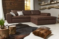 Loungebank Model: Smooth - Bruin Antiek Look - 17707
