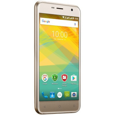 "Slika Prestigio Muze B7, PSP7511DUO, dual SIM, 3G, 5.0"" (720*1280) IPS display, Android 6.0 Marshmallow, quad core 1.3GHz, 2GB RAM + 16GB eMMC, 2.0MP front + 13.0MP rear camera with LED-flash, 2300mAh battery, golden"