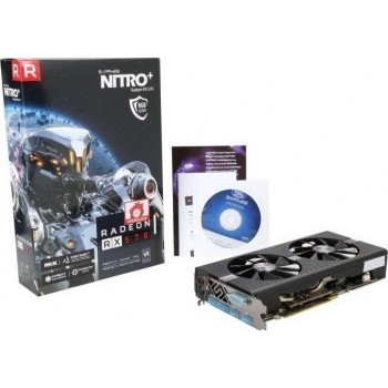 Slika SAPPHIRE Video Card AMD Radeon PULSE RX 570 8G GDDR5 DUAL HDMI / DVI-D / DUAL DP OC W/BP (UEFI) 11266-36-20G