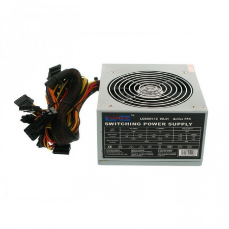 Slika LC-Power 600W LC600H-12 V2.31 12CM FAN