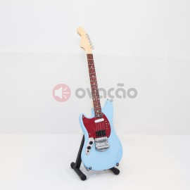 Mini-Guitarra Fender Mustang - Kurt Cobain - Nirvana images