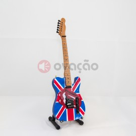 Mini-Guitarra Fender Telecaster - Keith Richard - Rolling Stones images
