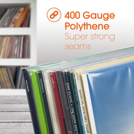 "Imagens Density 400g 12"" Record Sleeves - 100 Unidades"