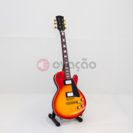 Mini-Guitarra Gibson LP Cherry - Frank Zappa images