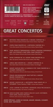 Various Composers: Great Concertos (10DVD) images