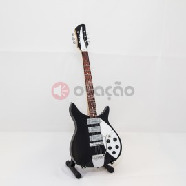 Imagens Mini-Guitarra Rickenbacker 325 - John Lennon - The Beatles