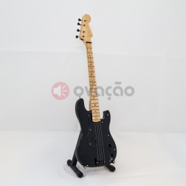 Imagens Mini-Guitarra Fender Precision Bass Black - Roger Waters - Pink Floyd