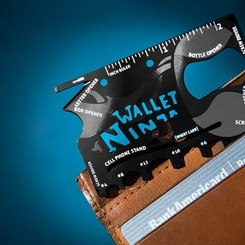 Card multifunctional 18in1 - Ninja Wallet