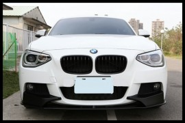 Imagens Bmw Serie 1 F20 F21 Performance Lip Spoiler Splitters Frontal F20 F21 (2012-2015)
