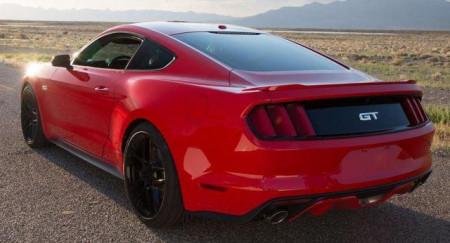 Imagens Aileron Ford Mustang 2015