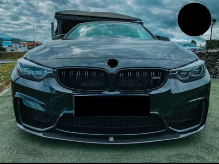 Imagens Spoiler Frontal BMW M4 M3 F80 F82 F83 Carbono Lip Frontal BMW M4 F82 Carbono