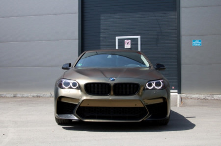 Imagens Parachoques frontal - BMW - Serie 5 F10 Look G30