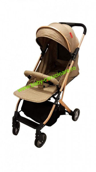 Poze Cărucior sport troller ultracompact&light Baby Care A 320 Dark Capuccino