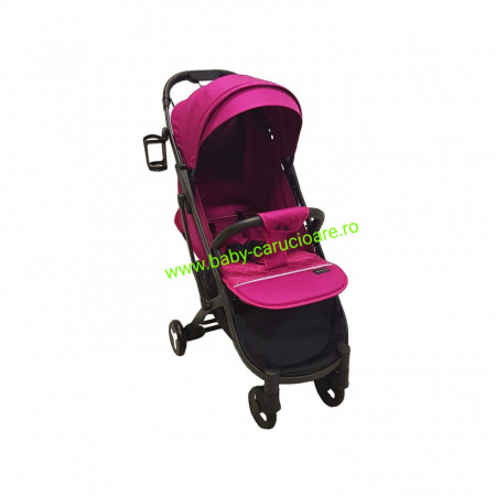 Poze Cărucior sport ultracompact Baby Care S 600 Dark Pink