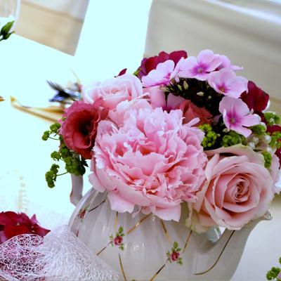 aranjament flori vintage