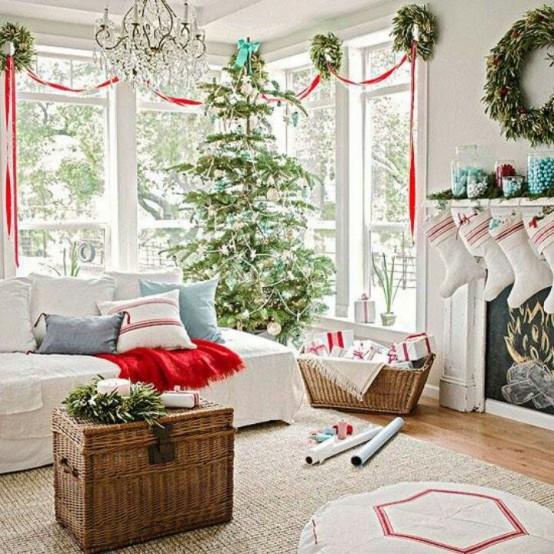 christmas-living-room- sugragerie -craciun - decor 1