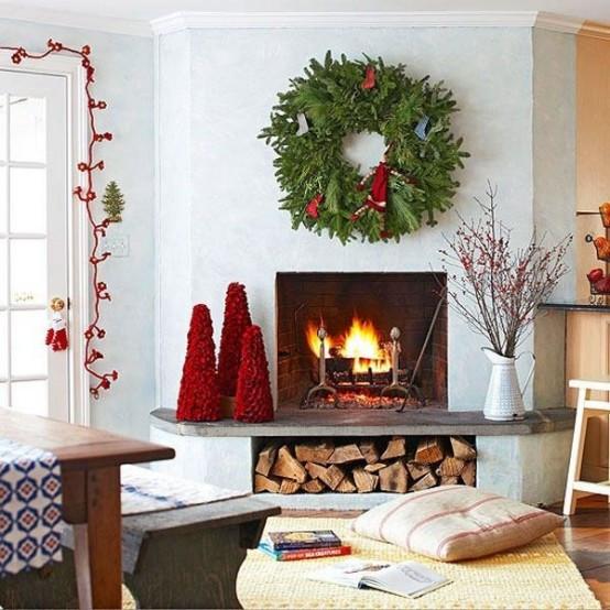 christmas-living-room-decor 10