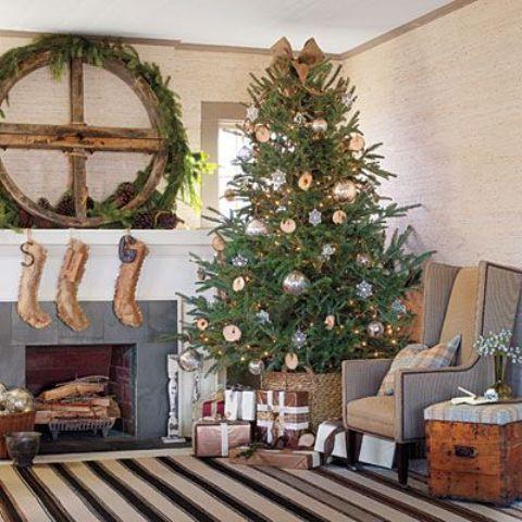 christmas-living-room-decor 11