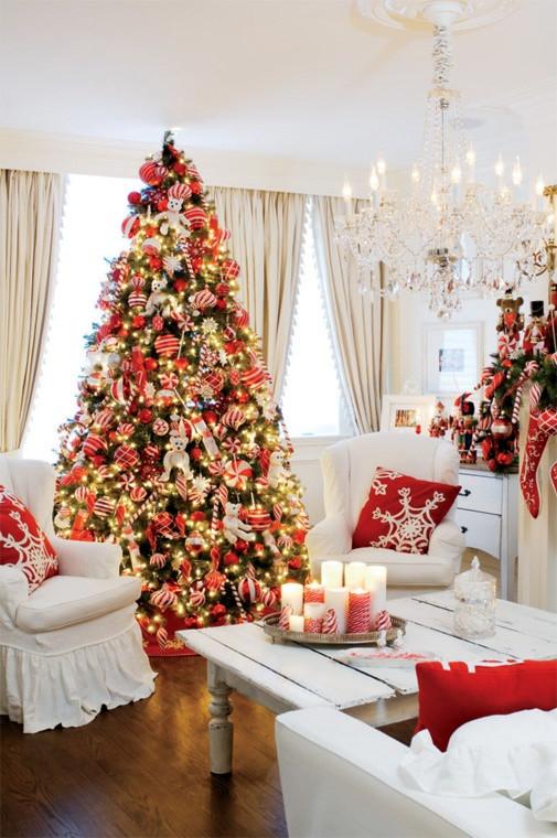 christmas-living-room-decor 14