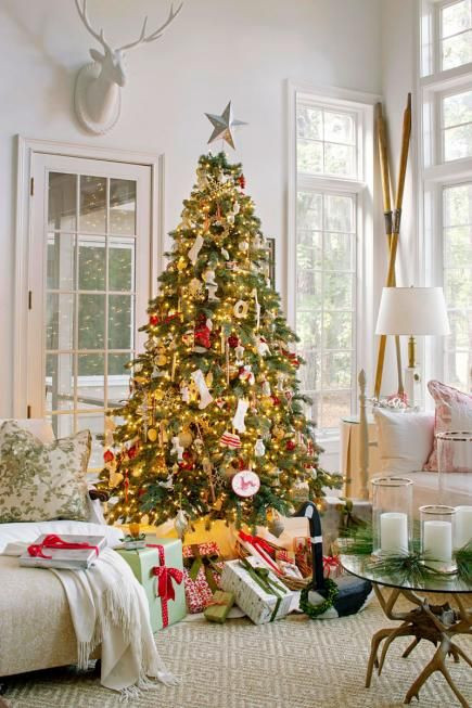 christmas-living-room-decor 15