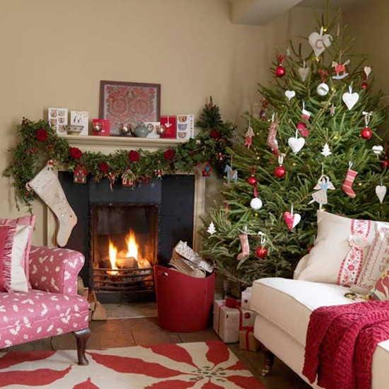 christmas-living-room-decor 16