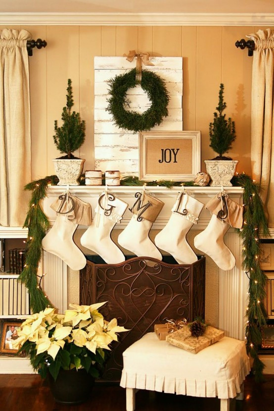 christmas-living-room-decor 17