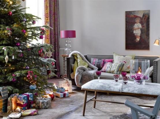 christmas-living-room-decor 18