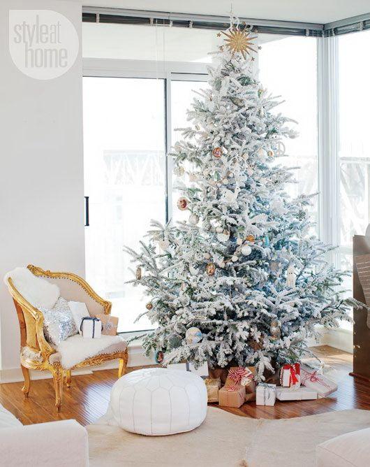 christmas-living-room-decor 23