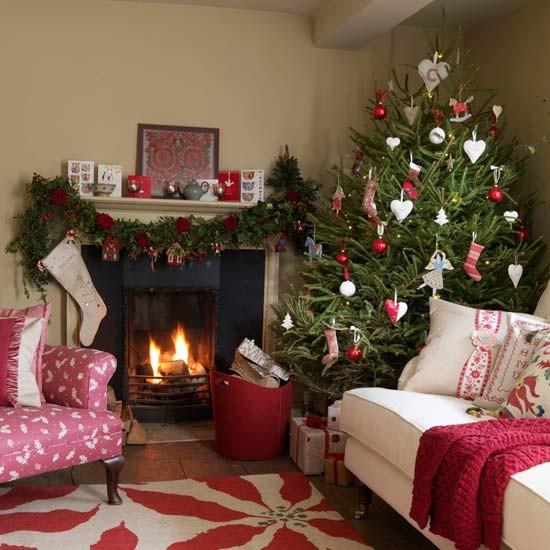 christmas-living-room-decor 24