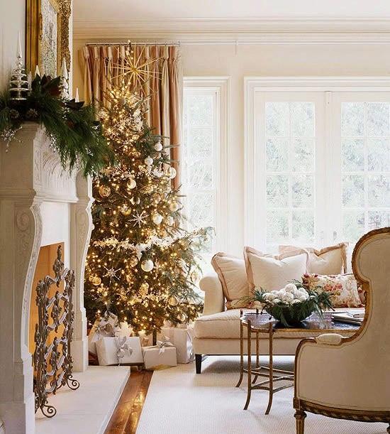 christmas-living-room-decor 3