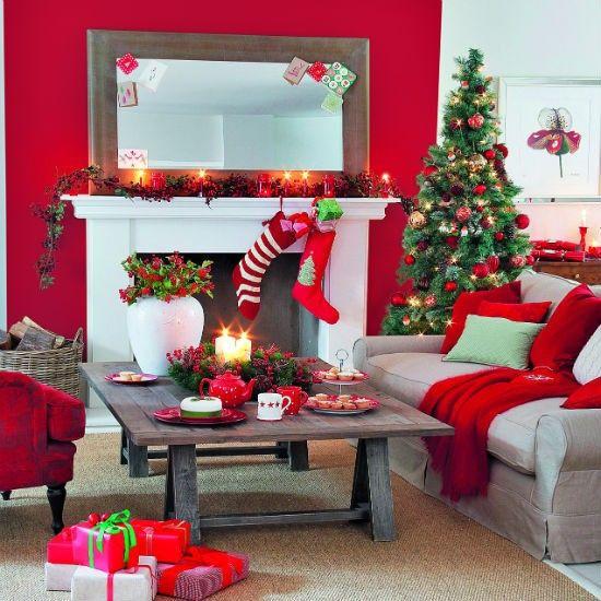 christmas-living-room-decor 30