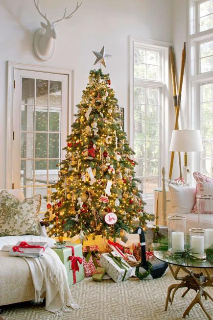 christmas-living-room-decor 33