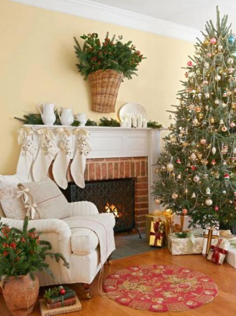 christmas-living-room-decor 35