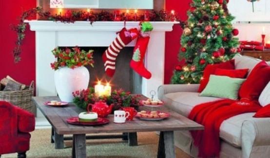 christmas-living-room-decor 37