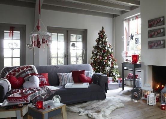 christmas-living-room-decor 39