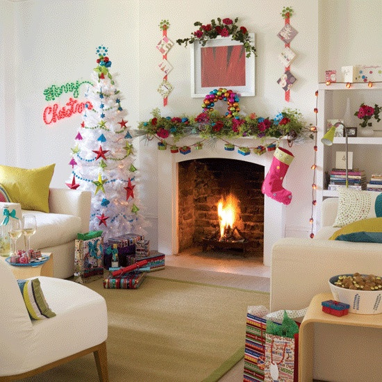 christmas-living-room-decor 40