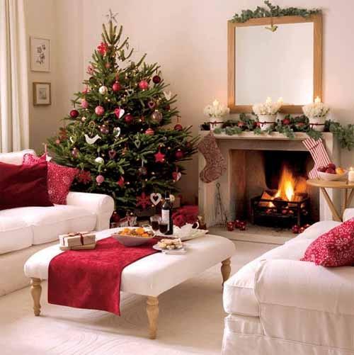 christmas-living-room-decor 41