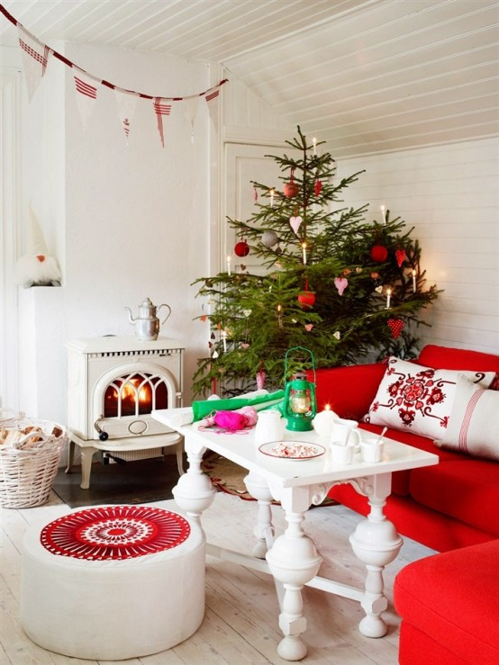 christmas-living-room-decor 6