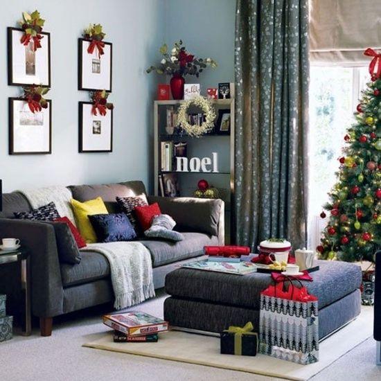 christmas-living-room-decor 8