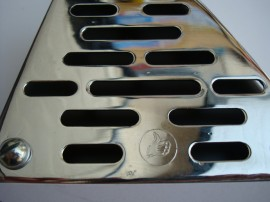 BULTACO GUARD EXHAUST GRILLE CHROME NEW imágenes
