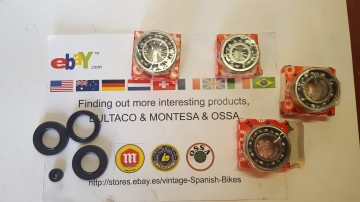 MONTESA COTA ENGINE BEARING + SEALS MONTESA COTA BEARINGS KIT AND SEALS imágenes
