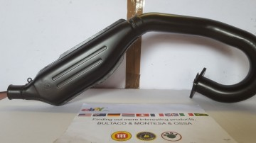 BULTACO ALPINA EXHAUST NEW BULTACO ALPINA MUFFLER MODEL 166 BULTACO ALPINA 350 EXHAUST imágenes